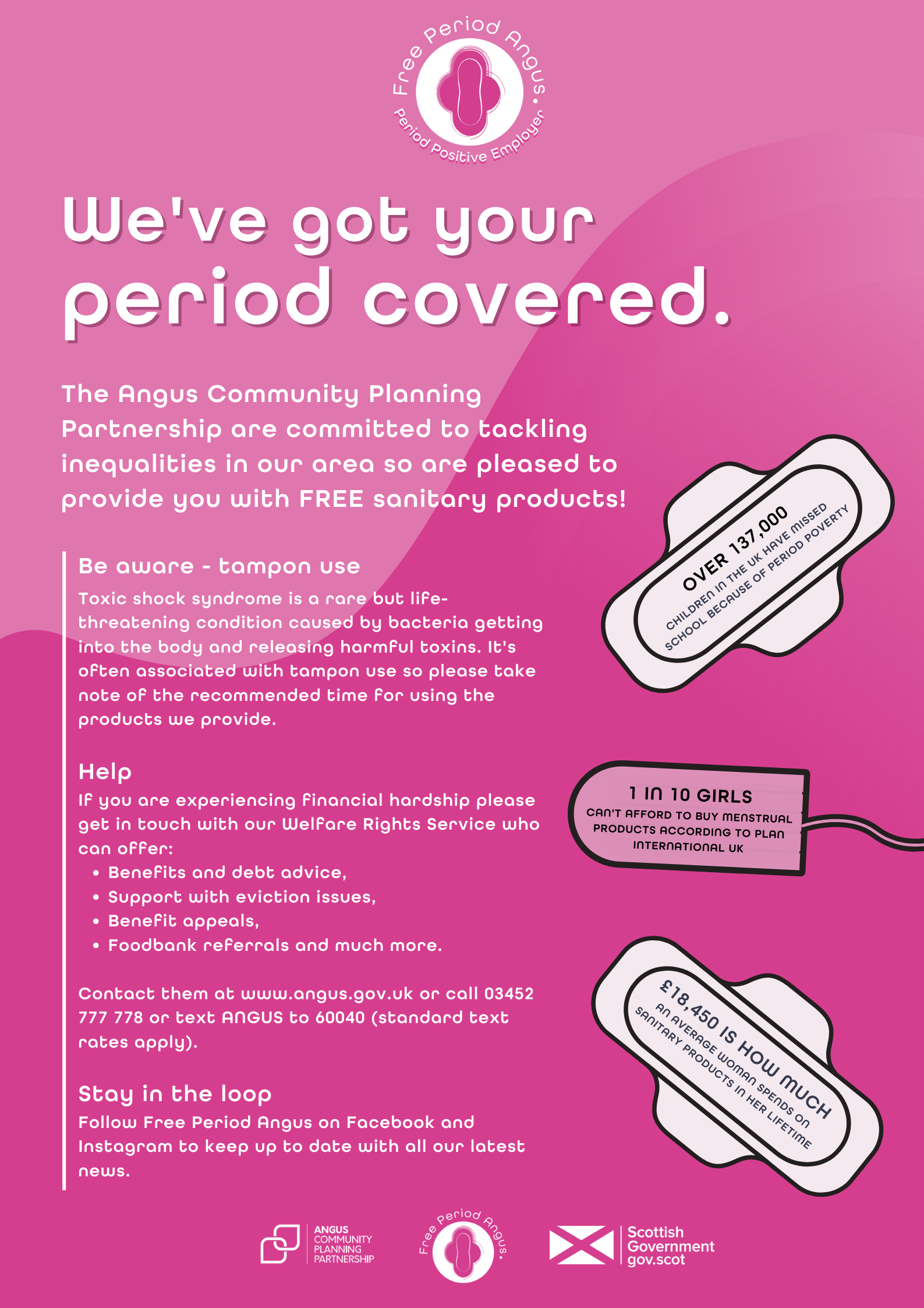 Period Positive Employer poster